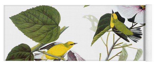 Audubon Warbler Yoga Mat