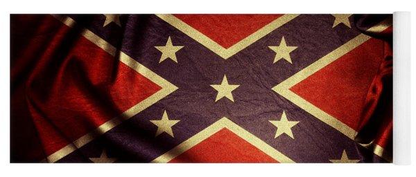 Confederate Flag 6 Yoga Mat