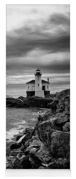Coquille Lighthouse Yoga Mat