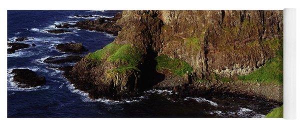 Dunluce Castle, Co. Antrim, Ireland Yoga Mat