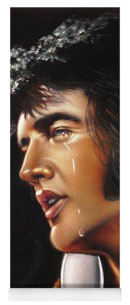 Elvis Presley Portrait Yoga Mat