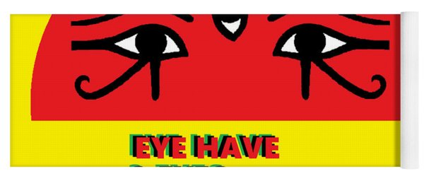 3 Eyes Yoga Mat