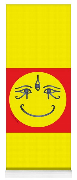 3 Eyes Smiling  Yoga Mat