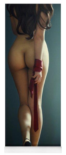 Female Body Yoga Mat