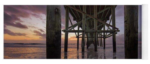 Fernandina Beach Pier Yoga Mat