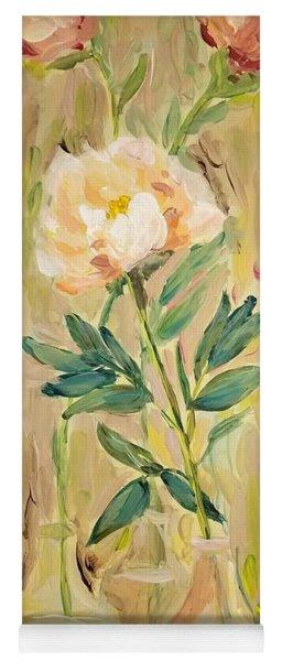 3 Flowers Yoga Mat