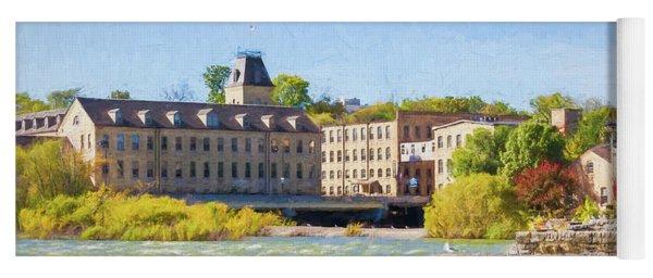 Historic Fox River Mills Yoga Mat