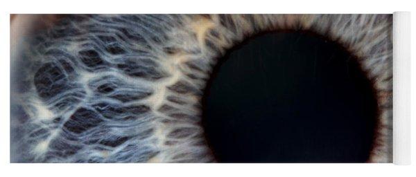 Human Iris Blue Yoga Mat