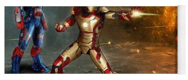 Iron Man 3 Yoga Mat