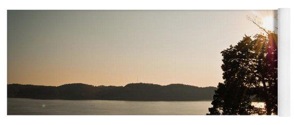 Lake Cumberland Sunset Yoga Mat