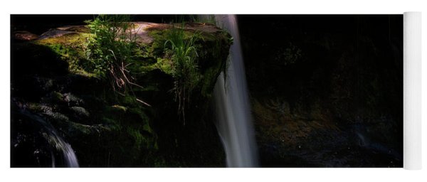 Yoga Mat featuring the photograph Lynn Mill Waterfalls by Jeremy Lavender Photography