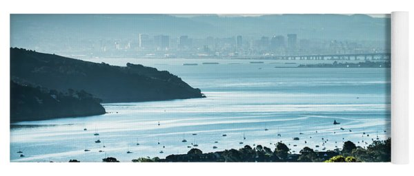 Yoga Mat featuring the photograph Muir Beach On Pacific Ocean Coast In California by Alex Grichenko