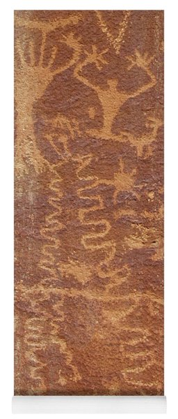 Petroglyph - Fremont Indian Yoga Mat