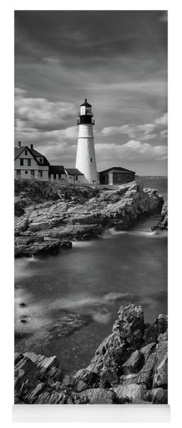 Portland Head Light Yoga Mat