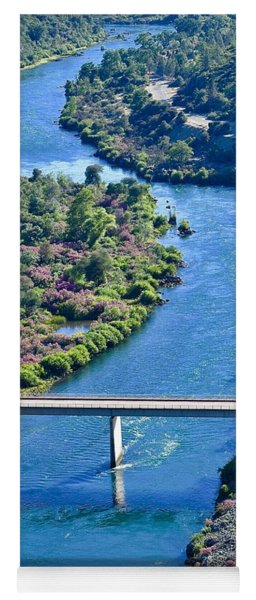 Shasta Dam Spillway Yoga Mat