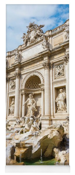 Trevi Fountain Yoga Mat