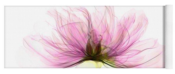 X-ray Of Peony Flower Yoga Mat