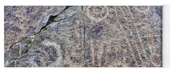 3,000 Year Old Petroglyphs Argentina Yoga Mat