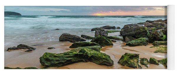 Dawn Seascape Yoga Mat