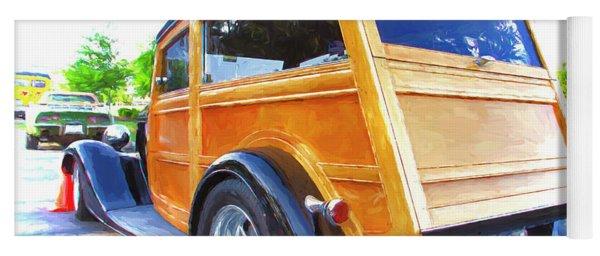 '34 Woodie Wagon Yoga Mat