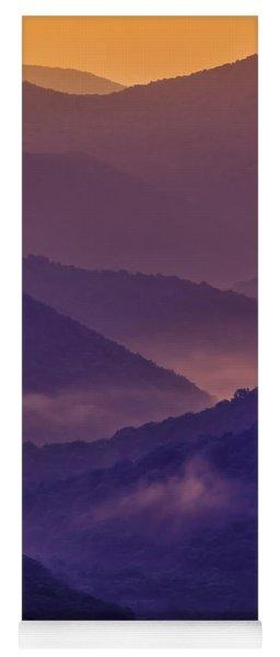 Allegheny Mountain Sunrise Two Yoga Mat