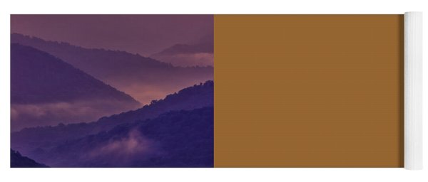 Allegheny Mountain Sunrise Two Yoga Mat