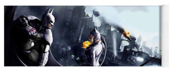 Batman Yoga Mat