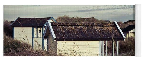 Beach Houses And Dunes Yoga Mat