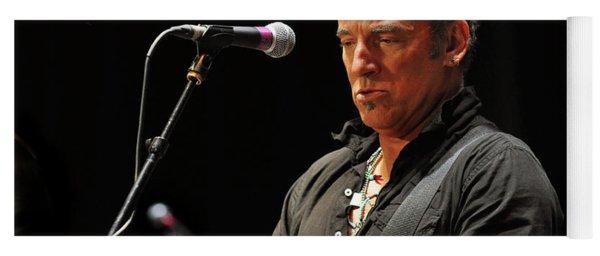 Bruce Springsteen Yoga Mat