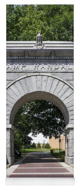 Camp Randall Memorial Arch - Madison Yoga Mat