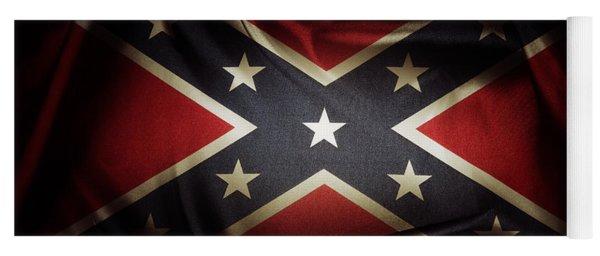 Confederate Flag 11 Yoga Mat