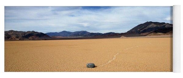 Death Valley Racetrack Yoga Mat