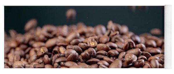 Fresh Roasted Coffe Beans Yoga Mat