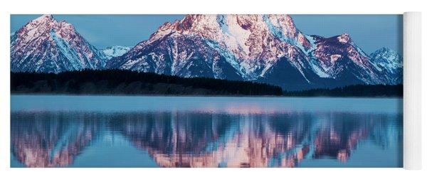 Grand Teton National Park Yoga Mat
