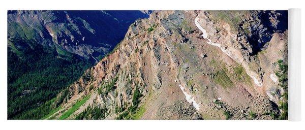 Hiking The Mount Massive Summit Yoga Mat
