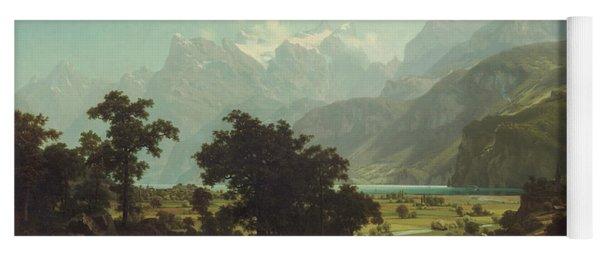Lake Lucerne Yoga Mat