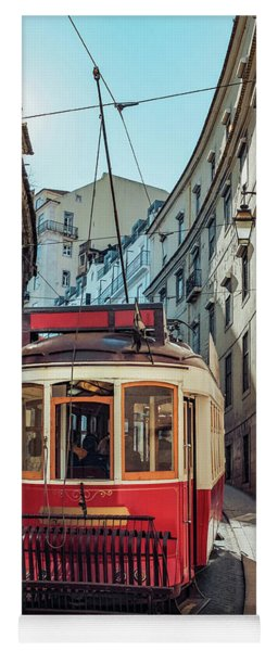 Lisbon Tram Yoga Mat