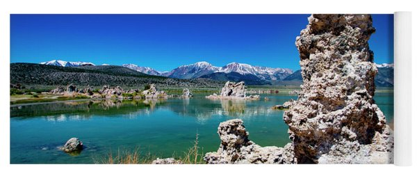 Mono Lake Tufa Yoga Mat