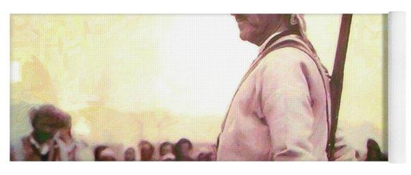 Portrait Of Melle Mutafa Barzani Yoga Mat
