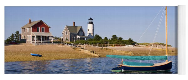 Sandy Neck Lighthouse Yoga Mat