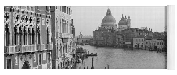 The Grand Canal In Venice Yoga Mat