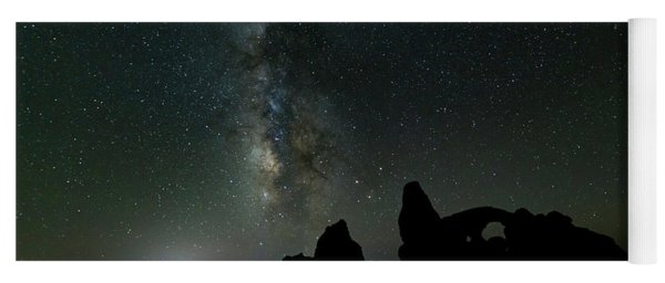 The Milky Way Yoga Mat