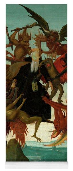 The Torment Of Saint Anthony Yoga Mat