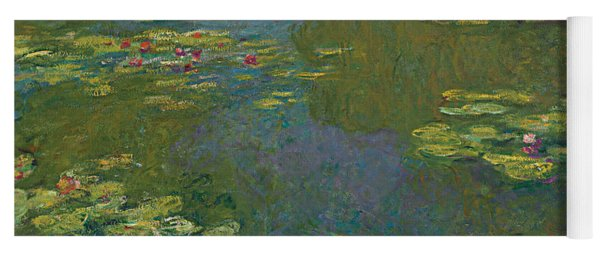 The Waterlily Pond Yoga Mat