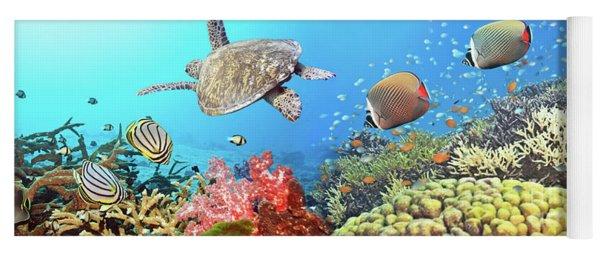 Underwater Panorama Yoga Mat