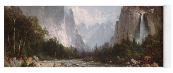 View Of Yosemite Valley Yoga Mat