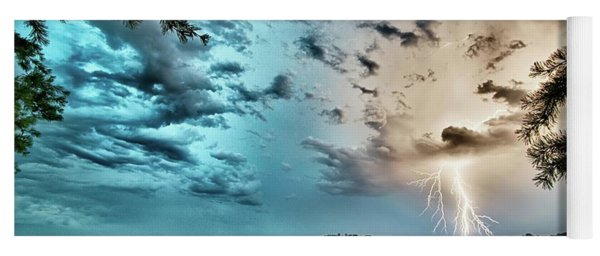 Beautiful Landscape Scenes At Lake Jocassee South Carolina Yoga Mat