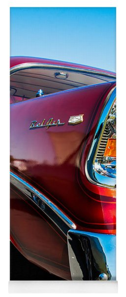 56 Chevy Bel Air Yoga Mat