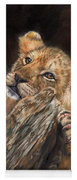 Lion Cub Yoga Mat