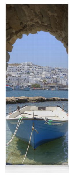 Paros - Cyclades - Greece Yoga Mat